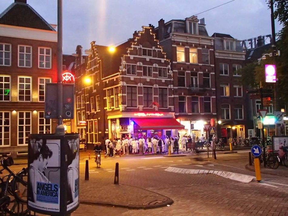 Your Amsterdam Amsterdam Night Life Fifty Four Dressed In White