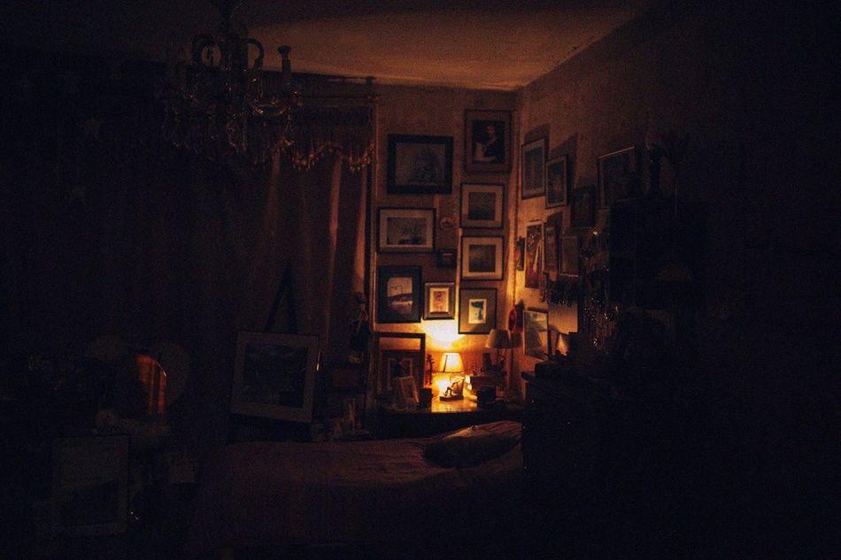 Illuminated Night Indoors  No People Home Interior Architecture