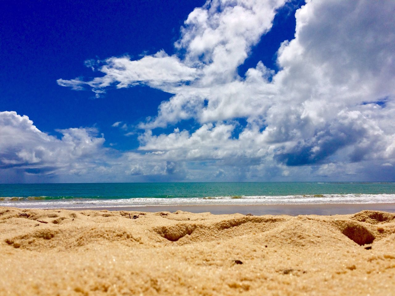 Iphonephotography IPhoneography Iphoneonly Sea Beach Blue Sky Cloud - Sky Horizon Over Water No People Scenics Nature Water Outdoors Beauty In Nature Tropical Climate Beauty In Nature Tranquility