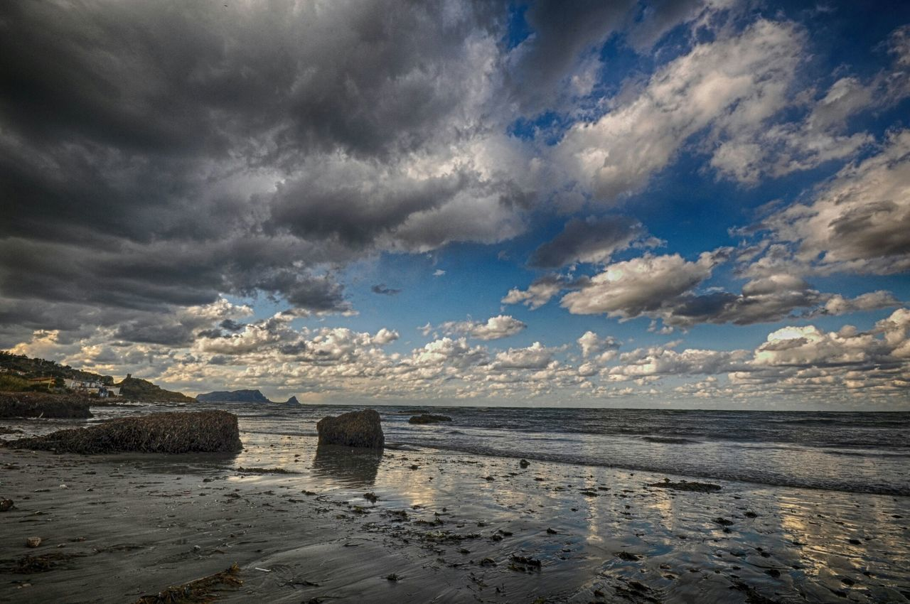 Mare Sea And Sky Sea And Clouds Hdrphotography