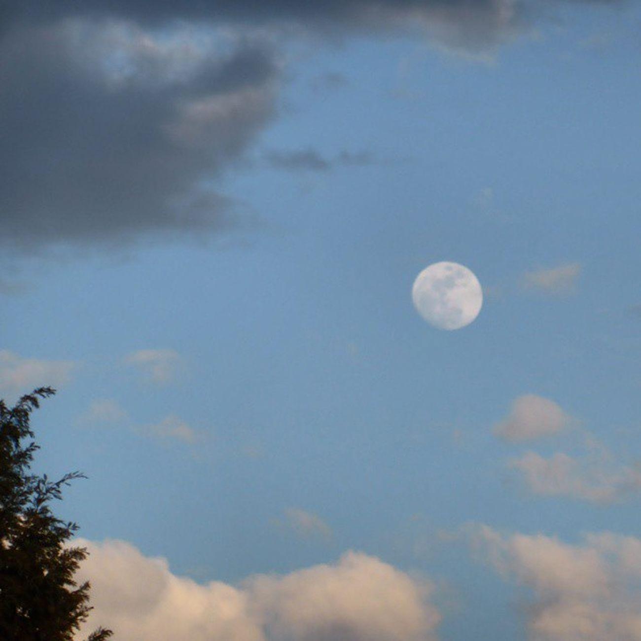 Hoy Lunalunera Nubesdehoy Zaragoza Skylovers atrapanubes photoofclouds igerszgz igersaragon instazaragoza Zaragozadestino Moon