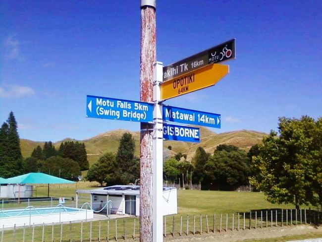 Home Sweet Home Homemade Hometown Which Way To Go? Which Direction? To The Left, To The Left East Coast Beauty Signs Sign Post Ngati Porou New Zealand Landscape New Zealand Beauty
