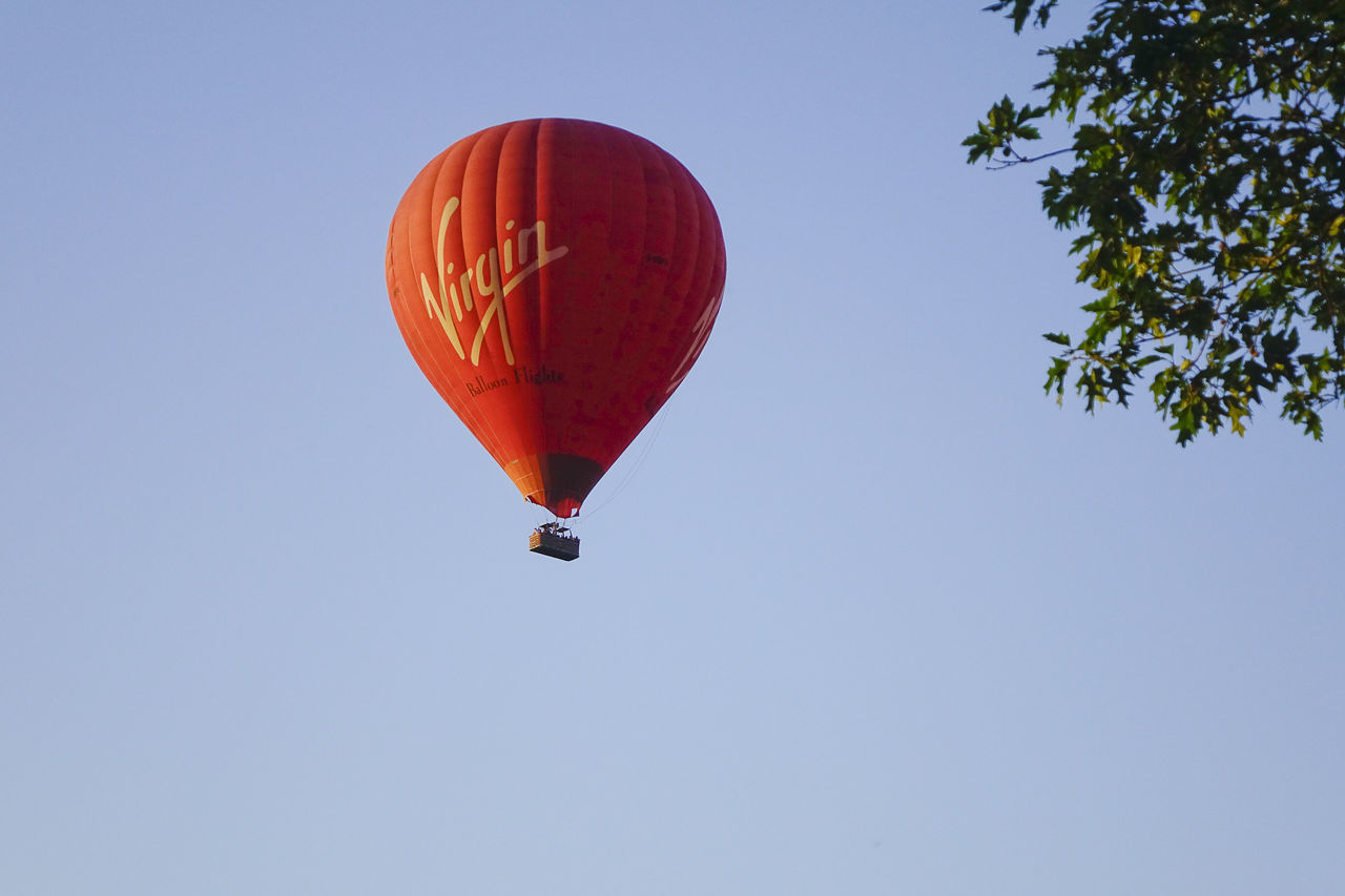 A Virgin hot air balloon flight over the Surrey countryside in Milford, England. England England🇬🇧 Godalming Hot Air Balloon Hot Air Ballooning Hot Air Balloons Milford Richard Branson Surrey Surrey Countryside Uk Virgin
