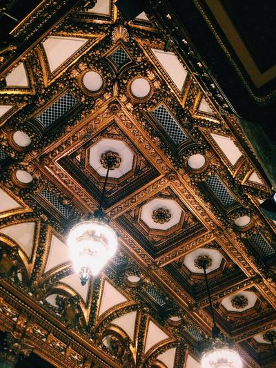 Architectural Feature Architecture Built Structure Capital Cities  Ceiling Decoration Design Directly Below Famous Place Illuminated Lighting Equipment Low Angle View No People Ornate Tourism Travel Destinations