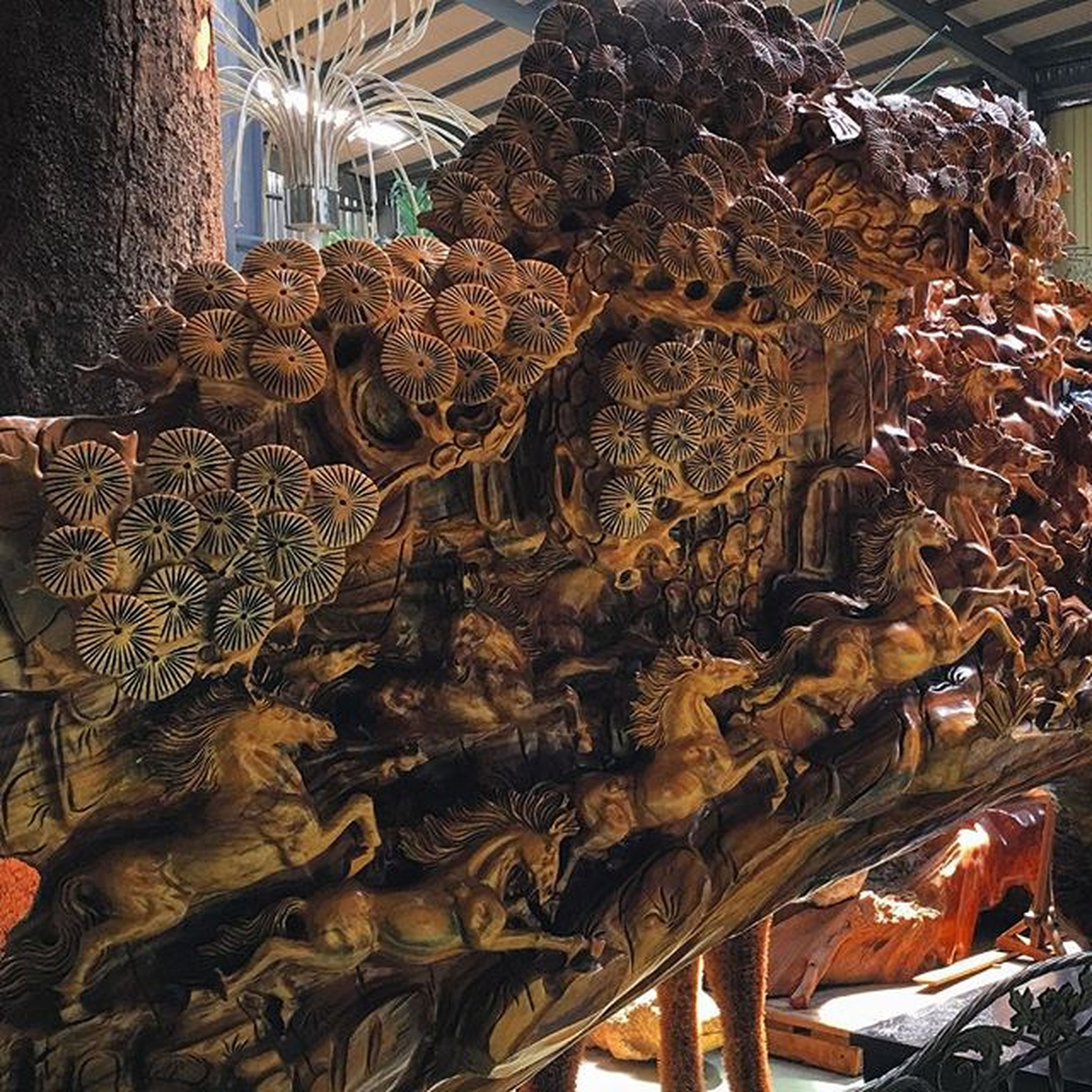 large group of objects, abundance, indoors, high angle view, stack, firewood, wood - material, market, heap, retail, for sale, abandoned, no people, day, built structure, arrangement, market stall, old, architecture