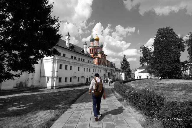부산 Busan Traveling Blackandwhite Russia Moscow City Cathedral