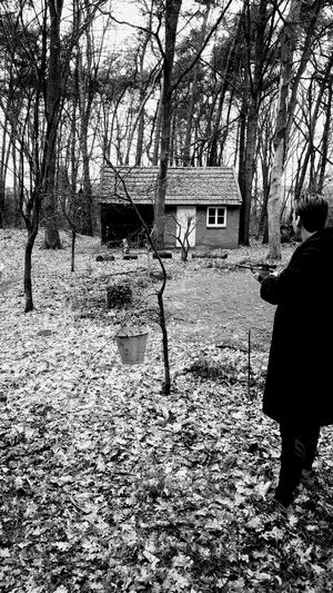 Hanging Out Taking Photos Enjoying Life Nature Dutch Countyside Limburg Arcen Holland Shooting Shooting Day Airgun Forrest Forrest Photography Black And White Photography Having Fun Shed