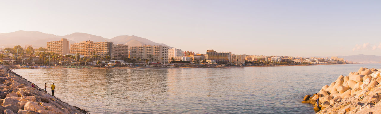 Beach City Cityscape Day Horizontal No People Outdoors Panorama Panoramic Photography Sky Sunset Sunset_collection Travel Destinations Water
