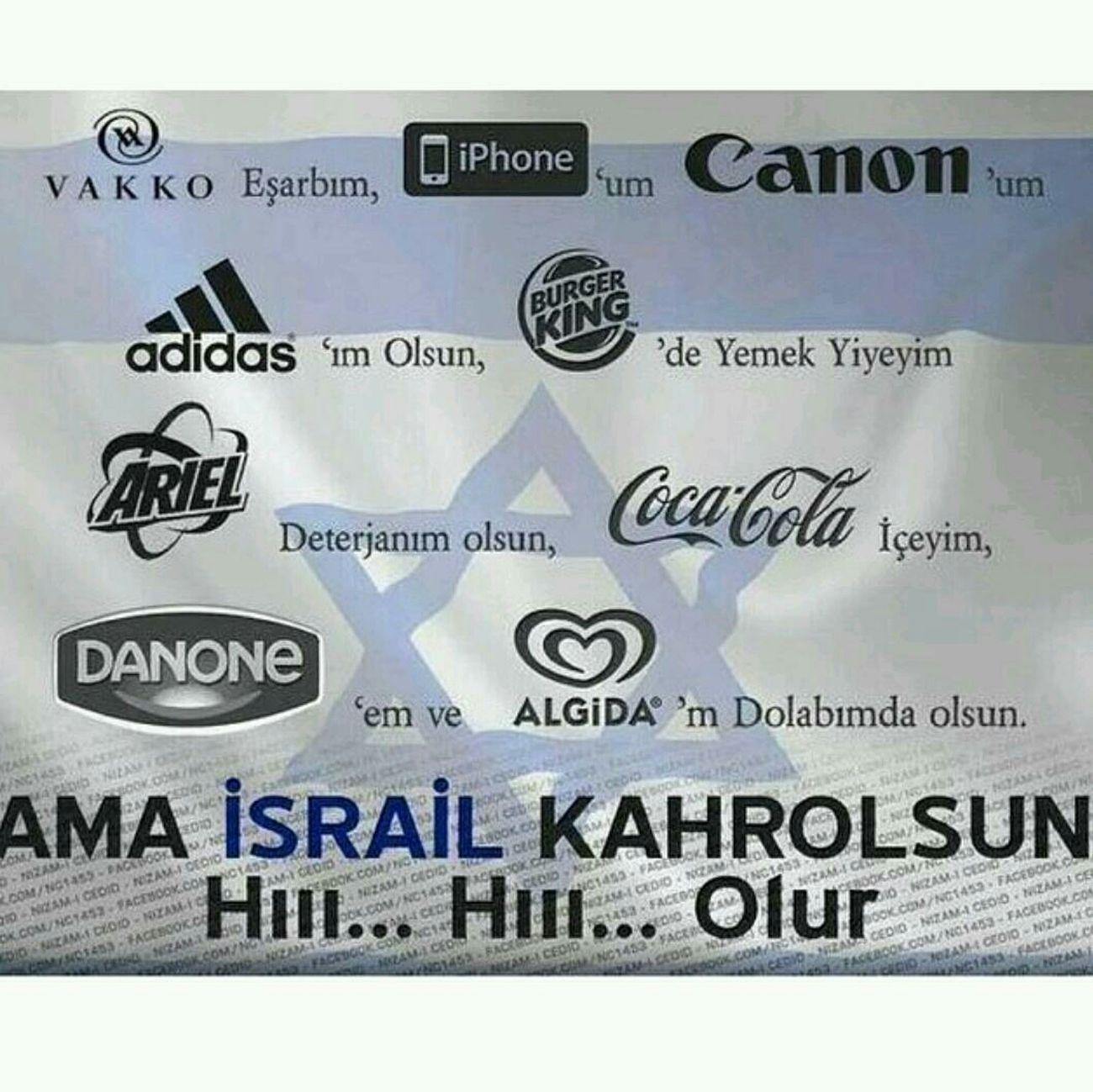 Olur Gazze Için Boykot Edelim Boykota Sende Katıl