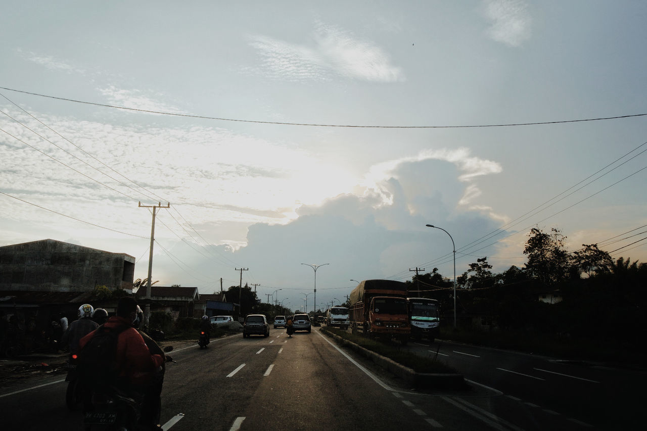 Weather Transportation Road Cloud - Sky The Way Forward Storm Cloud Storm Outdoors Thunderstorm Nature Sky No People Day
