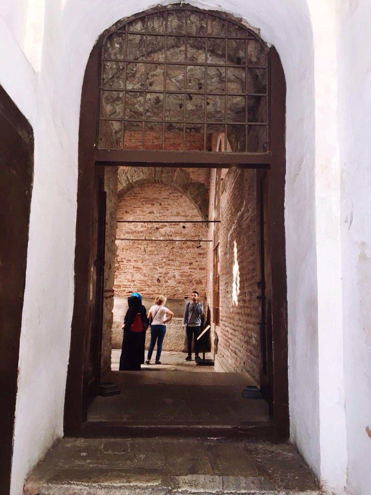 Architecture Day Arch History Hagiasophia  Travel Ayasofya (Hagia Sophia) Sultanahmet Tarihieser Tarihimekan Eminönü Istanbul Tarihiyarimada