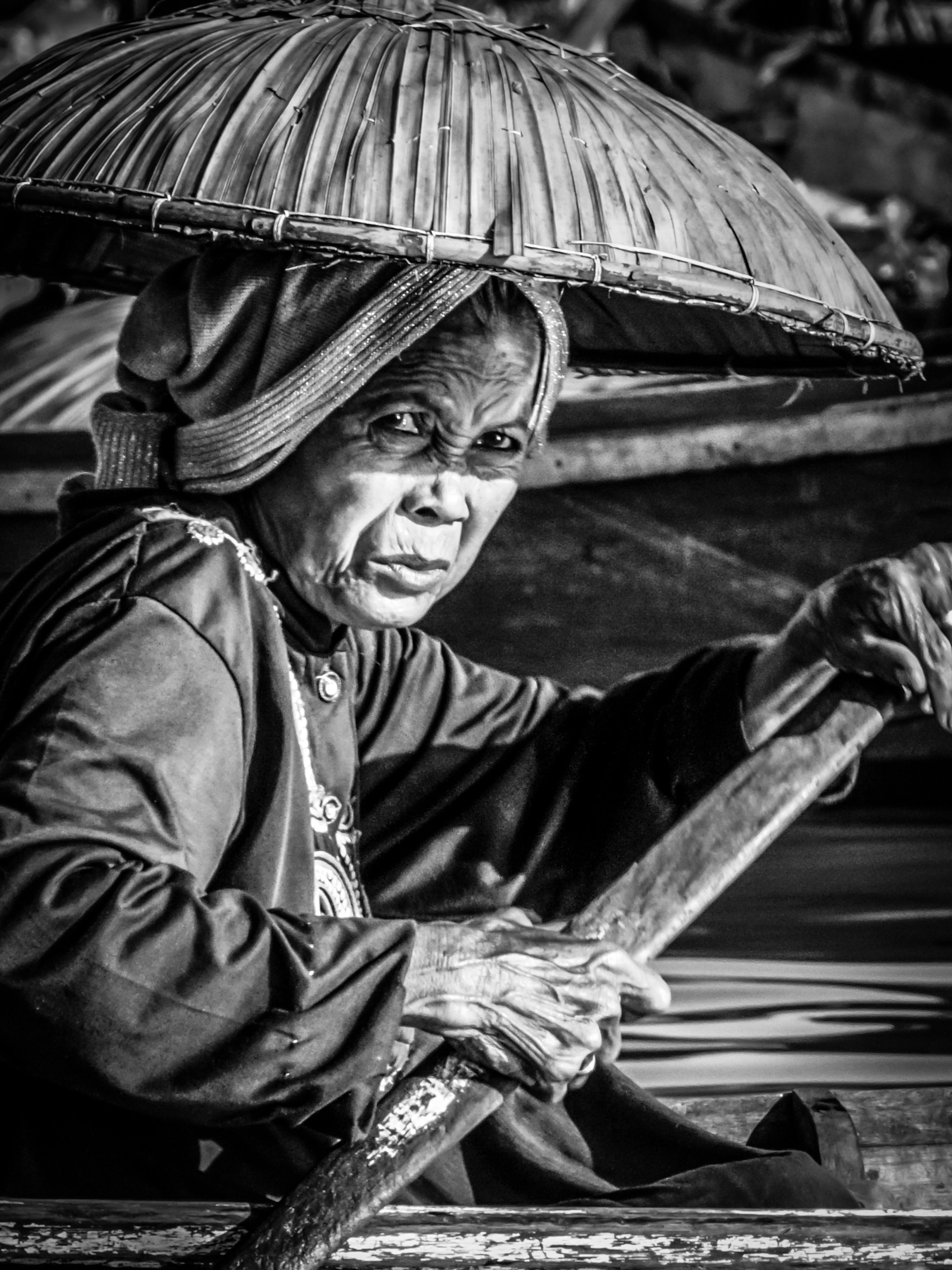 The Portraitist - 2017 EyeEm Awards ACIL (the name for traders in the floating market) The Photojournalist - 2017 EyeEm Awards South Borneo Banjarmasin Floating Market Woman Portrait Woman Who Inspire You