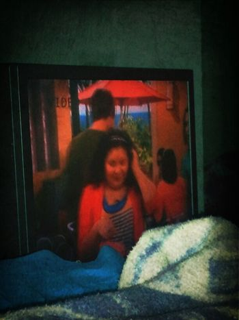 chilling watching Austin and Ally