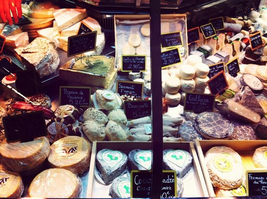 food at Marché Saint-Germain by PH+