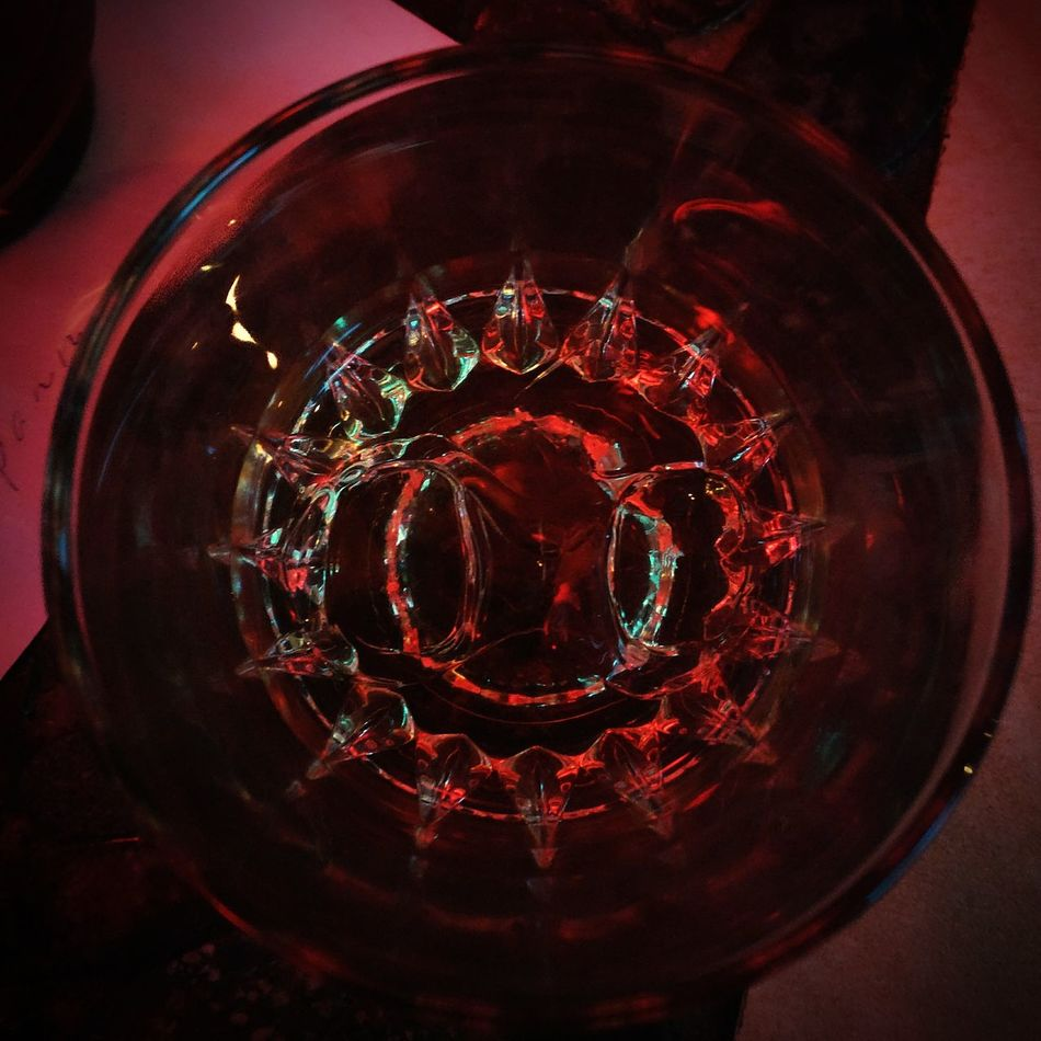 Red Close-up Concentric No People Glass Art Glass Whiskey Night With Friends Nightlife Bar - Drink Establishment Light Effect Light Reflection Cristalglass