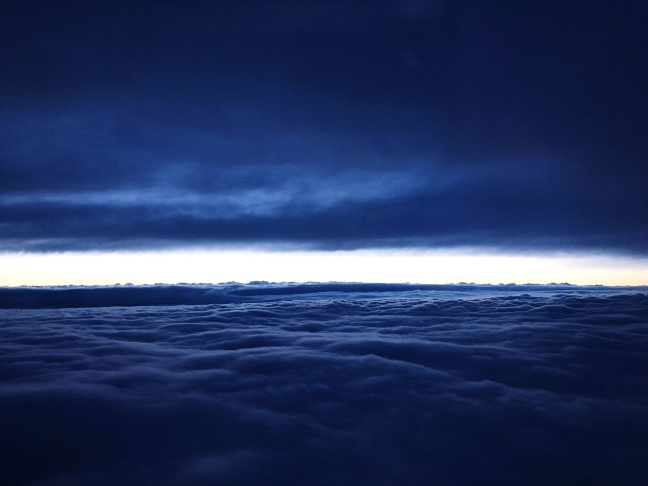In the middle of nowhere ☁️🛩 Sky Cloud Flight Airplane View Mothernature Beauty Misterious Darkside Staysexy First Eyeem Photo