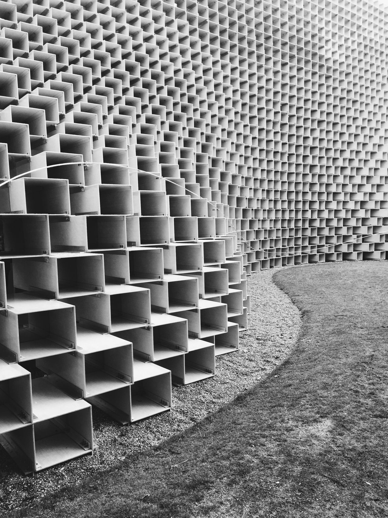 Serpentine Pattern Architecture Architecturephotography Architectural Detail Architecture Monochrome Photography ArchiTexture The City Light Minimalist Architecture