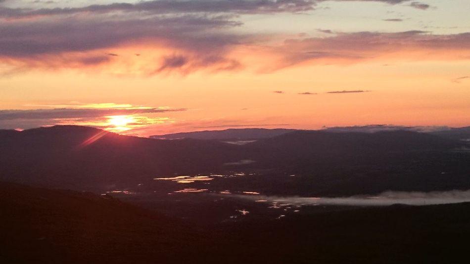 Sunset Beautiful Sunset Blåhammaren Semester