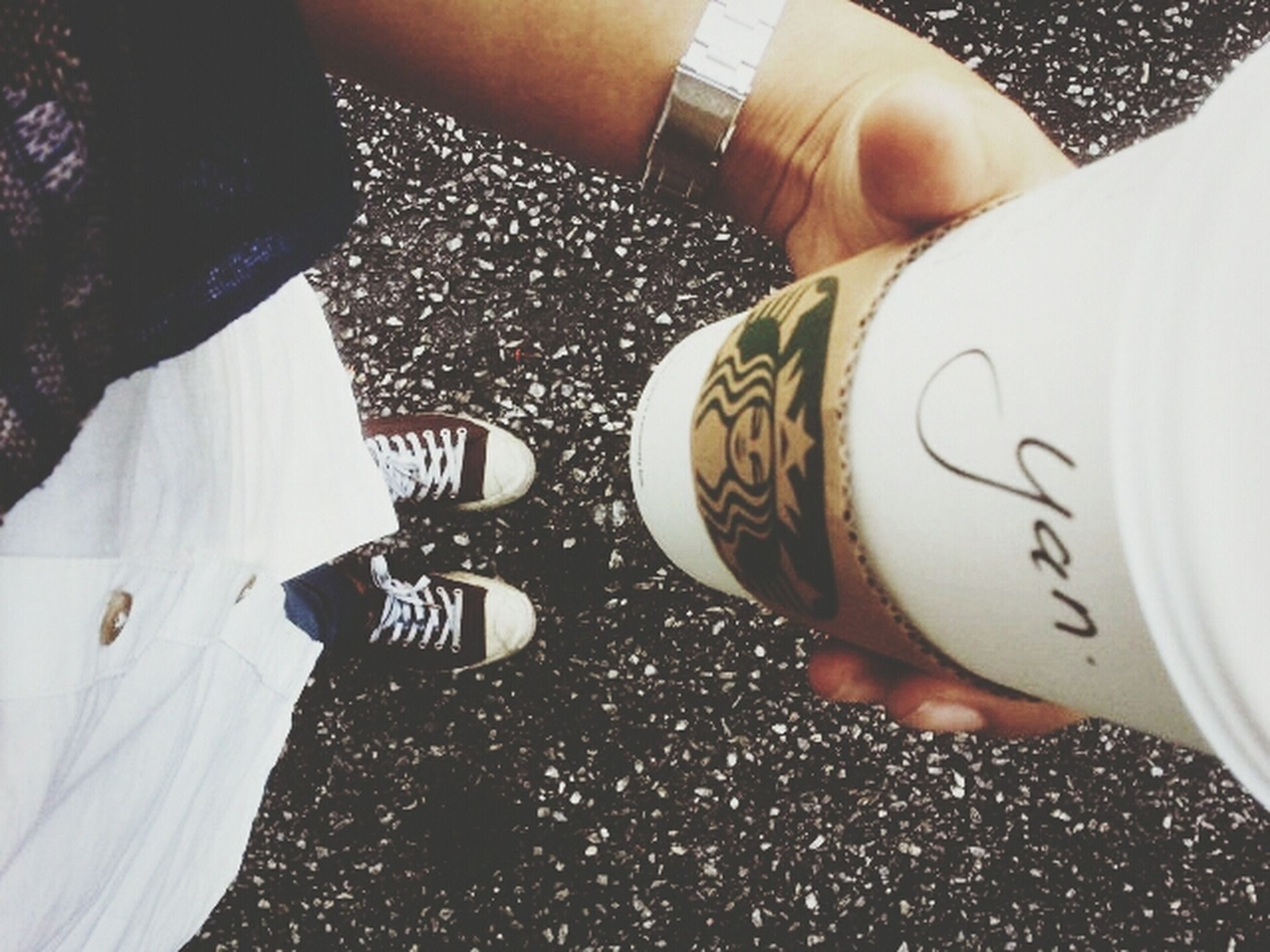 Converse Converse ❤ Starbucks Coffee Relaxing Time