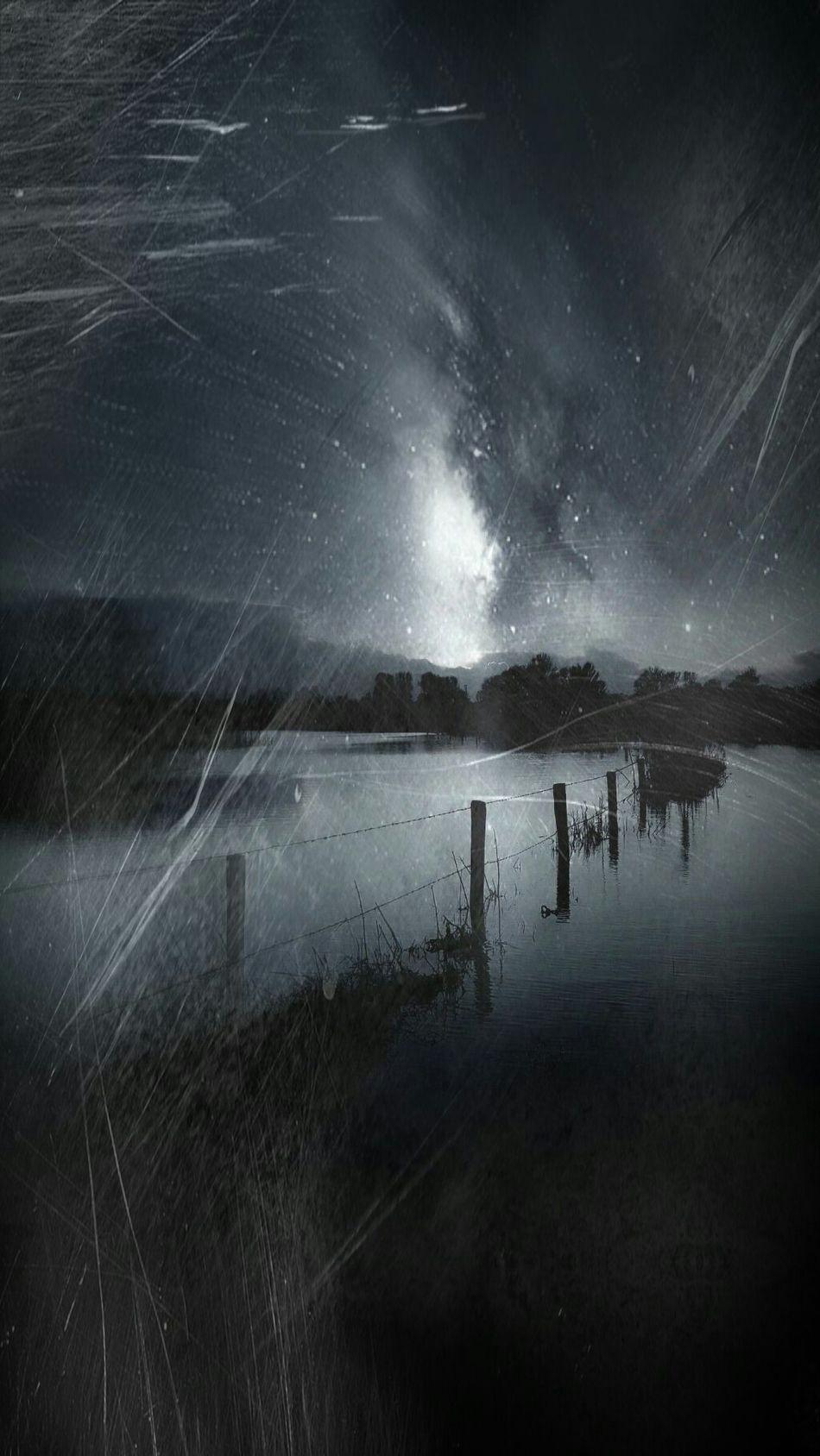 Night Nightsky Galaxia