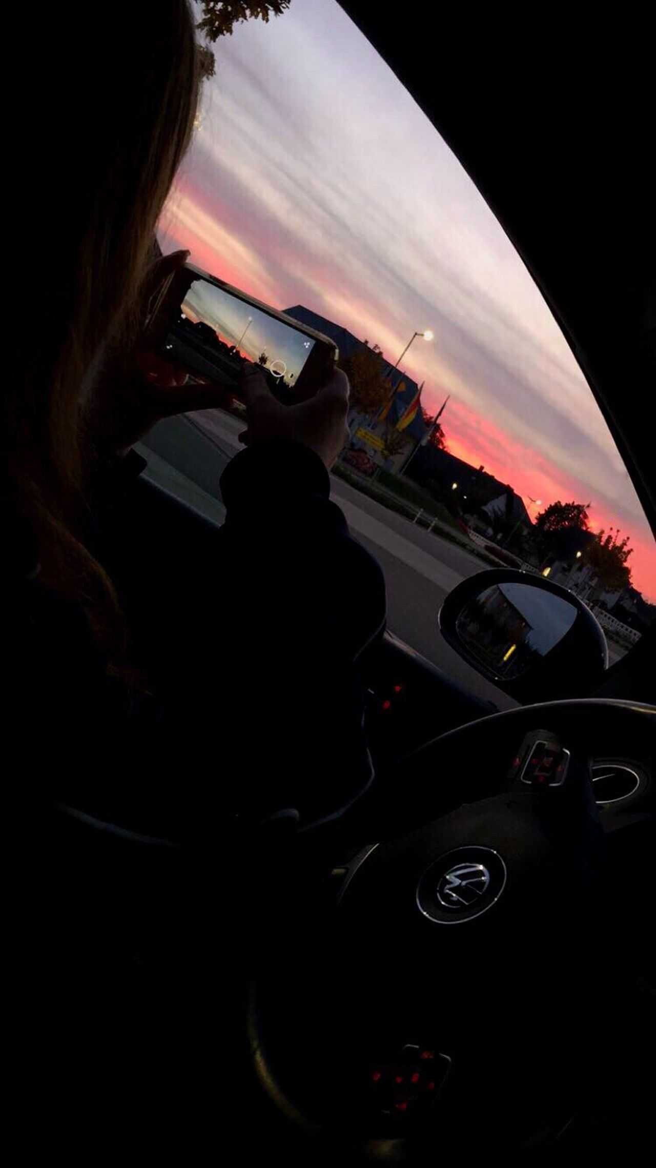 seems like taking photos of the sky is my favourite thing to do 📸🌅 Always Taking Photos Thatsunset Carridesarefun Skyporn Me