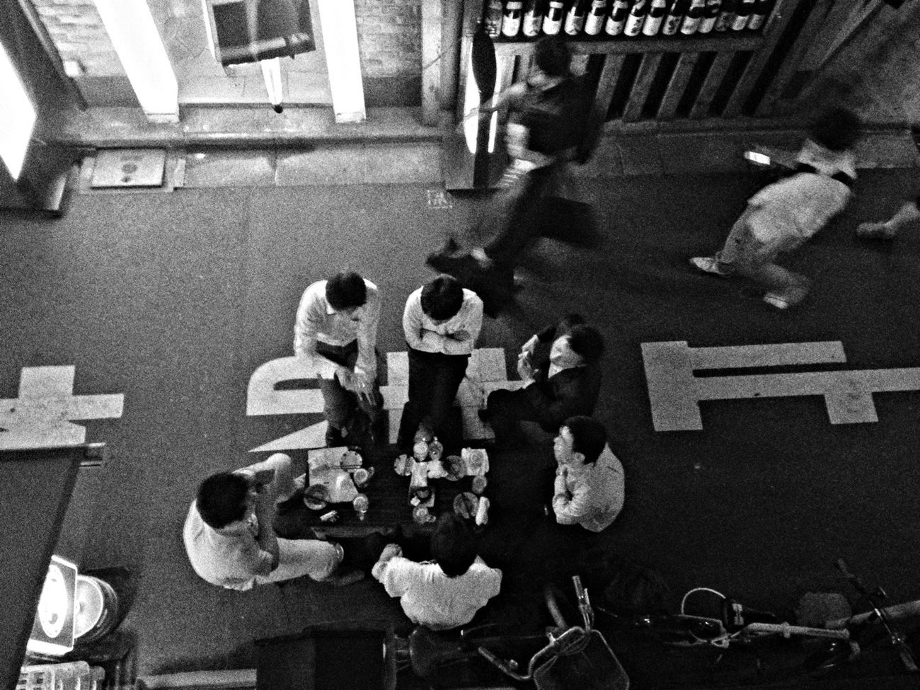 Streetphotography Blackandwhite Just Some Random Shot People In The Streets