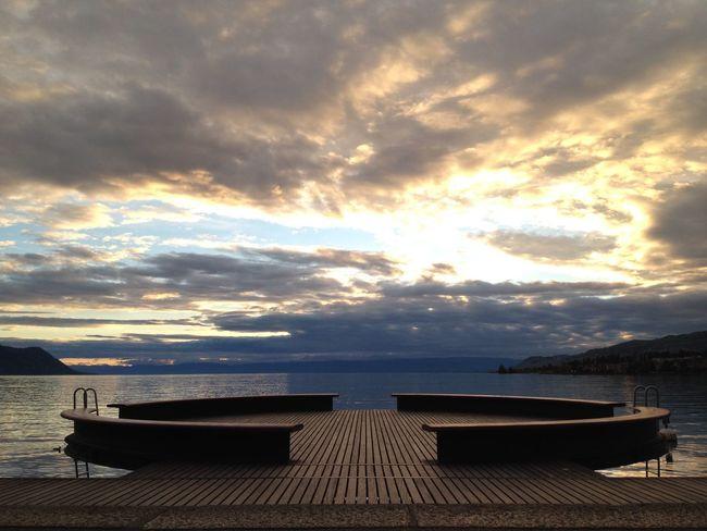 Sunset Lake Swimming EyeEm Best Shots