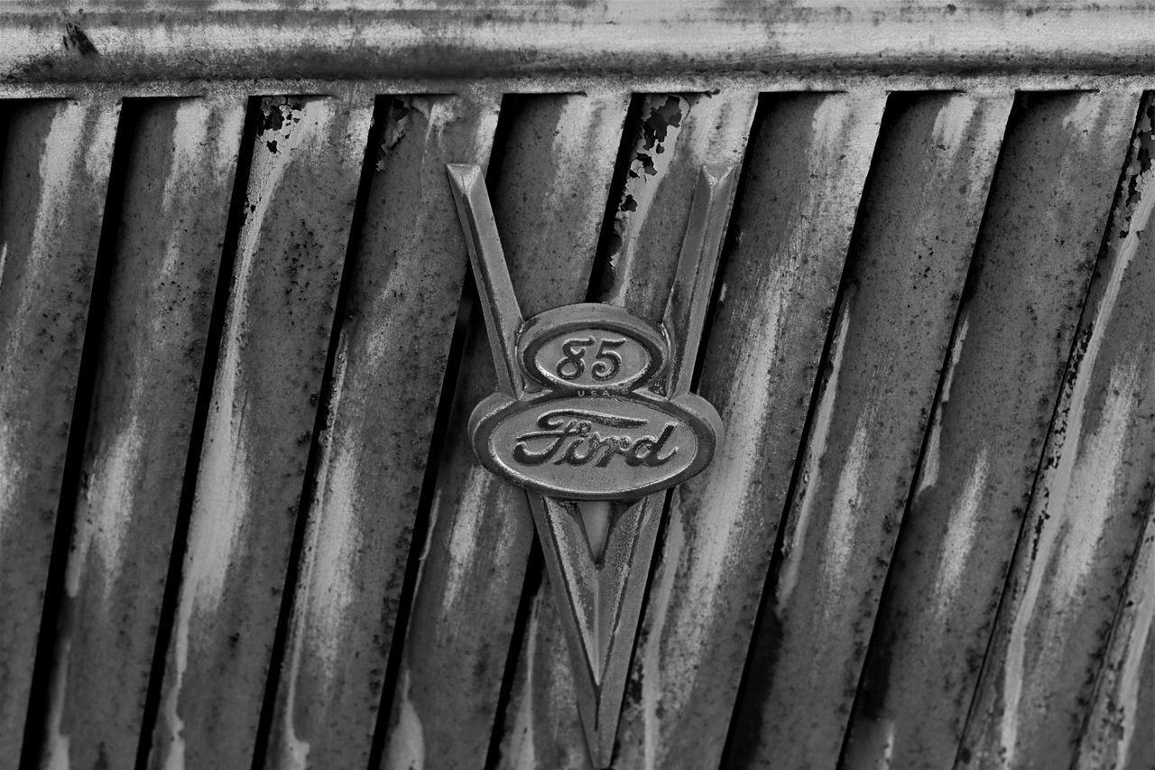 Black And White Photography Close-up Day Eye4photography  EyeEm Gallery Ford Metal No People Outdoors Russia