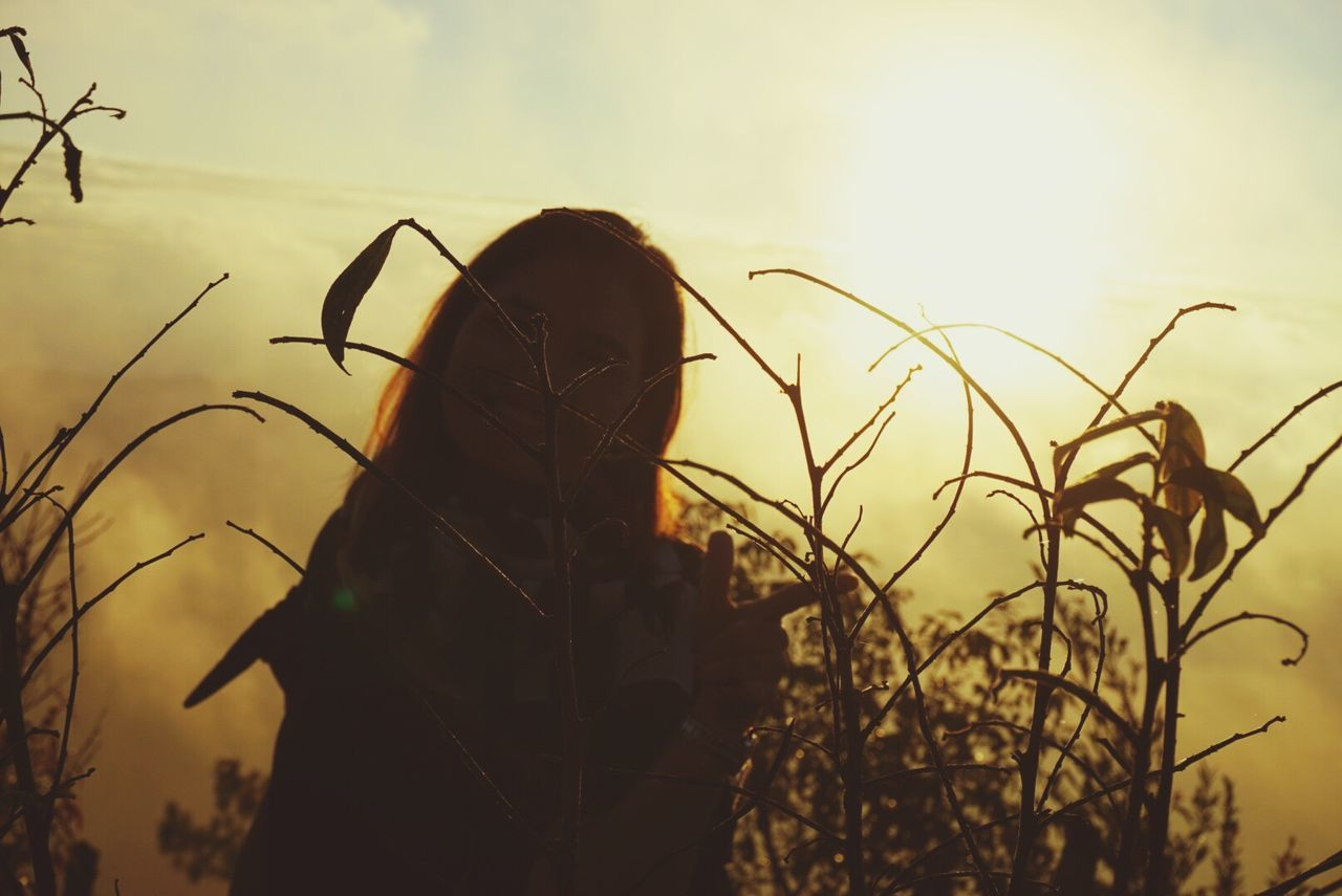 Single Feeling Blue Amazing View Thailand Place Sunrise Light Beautiful Light Sun & Clouds One Person Real People Rear View Sky Lifestyles Human Hair Women Outdoors Nature Plant Sunset Day Close-up Beauty In Nature Human Body Part People The City Light