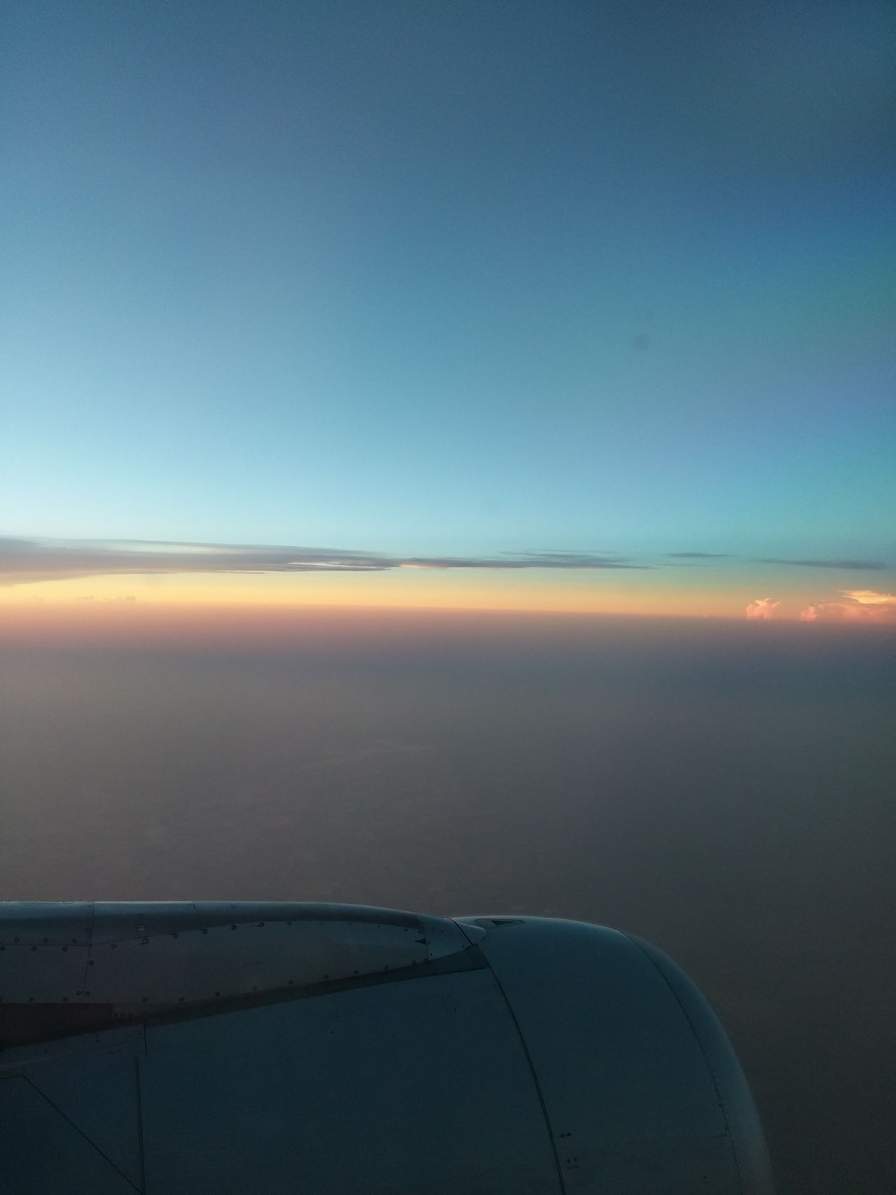 No Edits No Filters Fly In The Sky Beautiful Findingthebeauty Finding The Beauty Rainbow Sky Plane View Plane Diaries Dreams Eyes Open Taking Photos Check This Out Window View Colors Travel Millennial Pink