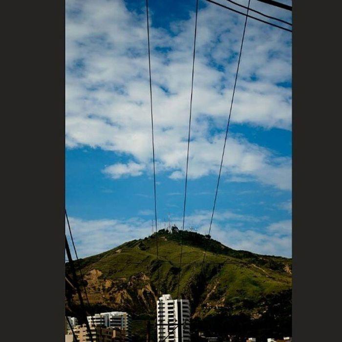 En el cielo! Sky Cielo TresCruces HillOfTheThreeCrosses Cali Colombia Tardecaleña Desde Sanantonio Quieroacali
