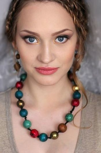 Looking At Camera One Young Woman Only Beautiful People Beauty Blond Hair Make-up Nasty :)  Nastena Korshunova Nasty :)