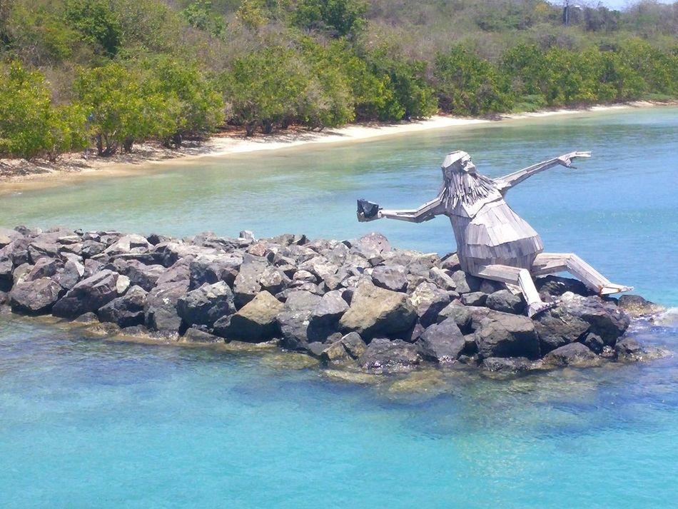 Hector el Protector. Thomas Dambos Culebra Beach, Puerto Rico. Outdoor Life artist: Thomas Dambos foto by: III