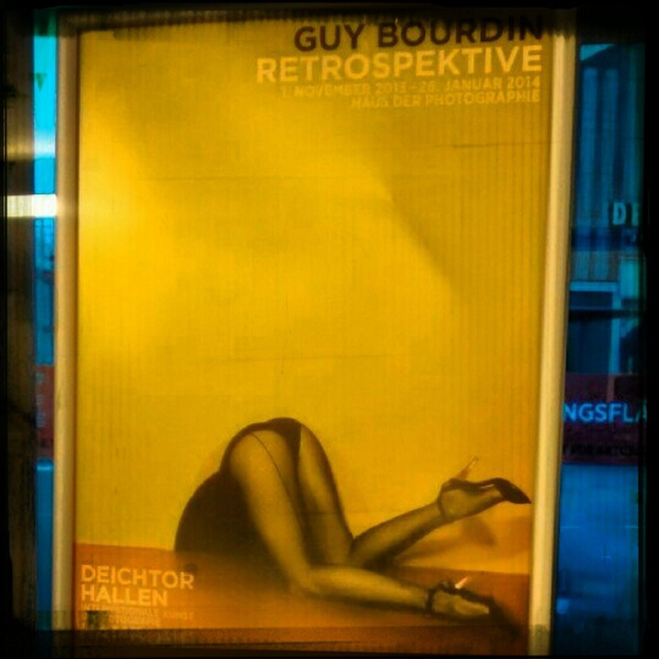 letzter Tag der Ausstellung über Guy Bourdin im Haus der Photographie.