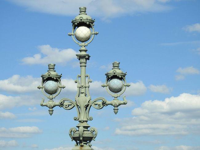 Troickii Bridge Neva River Lighter Clouds And Sky Blue Sky Sankt-peterburg Russia 43 Golden Moments Best EyeEm Shot