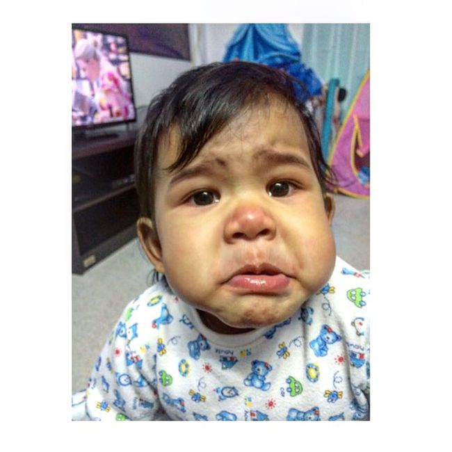 Cry Angry Face Thaibaby MyBabyGirl  Lovebaby