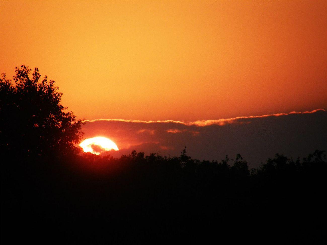 Sunset Sun Beautiful Sunset Nature Perfect Sky