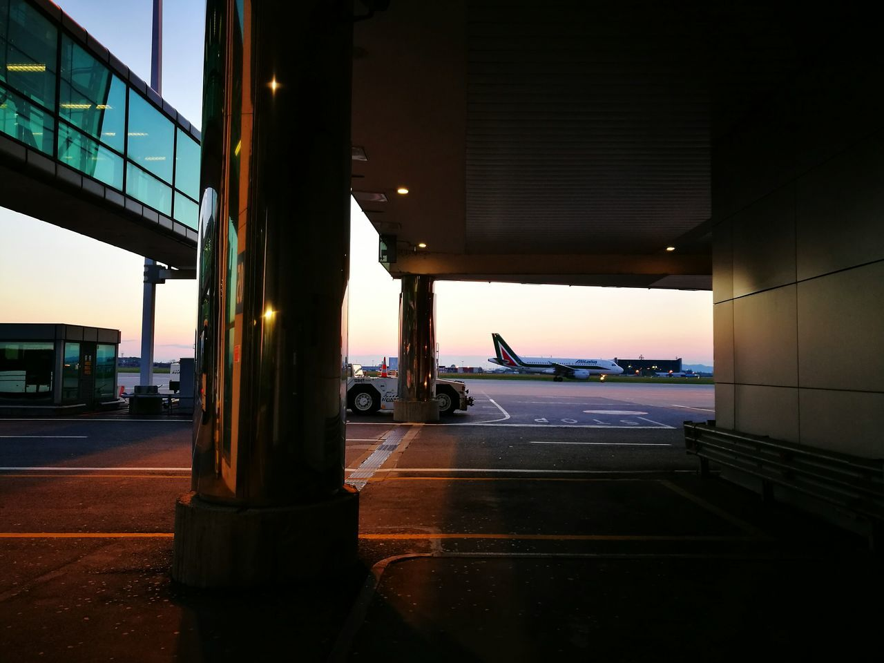 Morning Light Morning Sky Airplane Shot Airportphotography Airport Architecture Lovemyjob