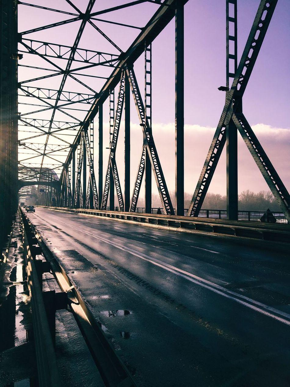 The City Light Bridge - Man Made Structure Bridge City Urban Urban Geometry Engineering Built Structure