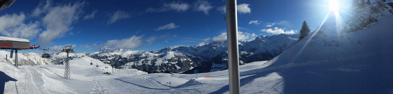 Lenk Schnee Snow Berner Oberland Ski Skiing Sun Sky