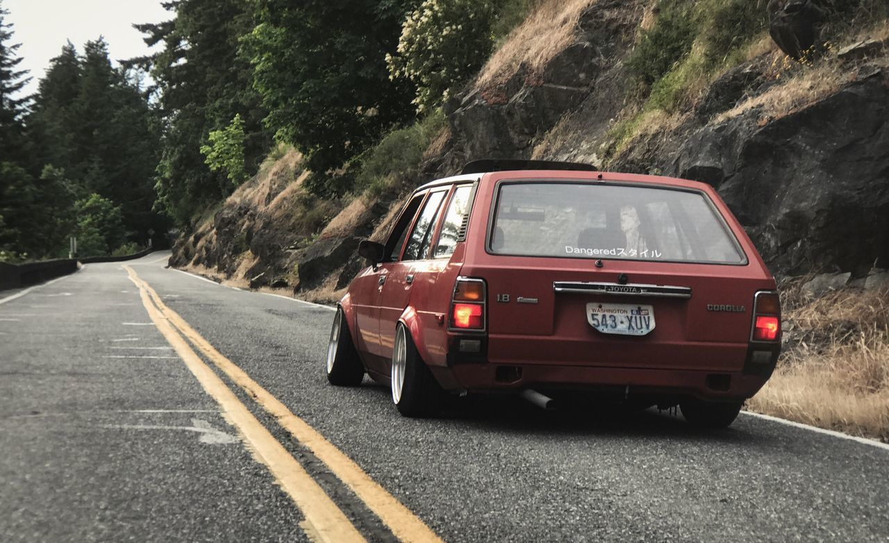 Road Transportation Classic Car Old School Toyota Corolla Toyota E7 Te72 Always Reckless Corolla Brotherhood Toyota Life Corolla Touge Let's Go. Together.