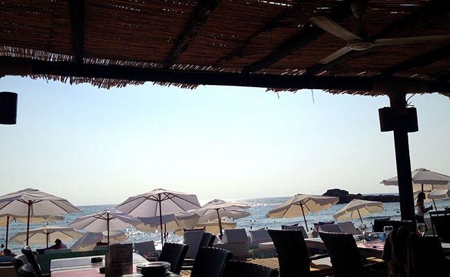 Summer Byblos Beach Umbrellas