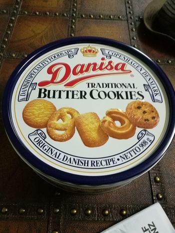 Butter Cookies Danish Cookies as if every grandma likes to use this to store needles and threads. Haha. Is it the same for you?