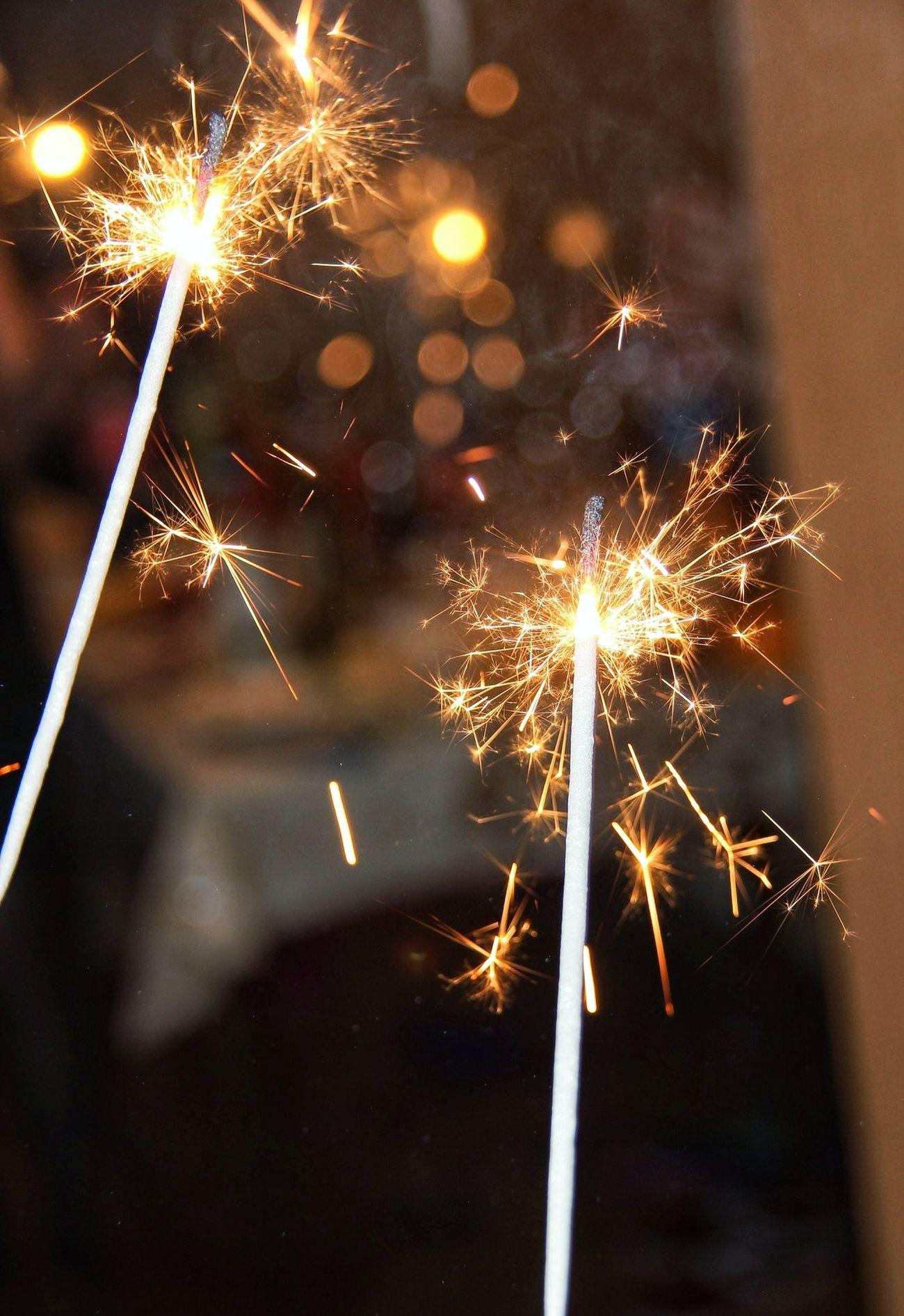 Sparklers Bengal Fire Photo Day NewYear Celebration Ukraine Beautiful Kiev Party Canon