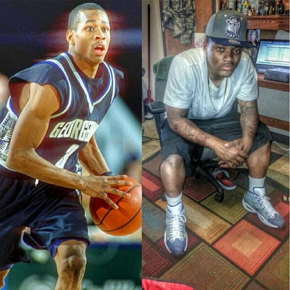 ShoutOut to one of the greatest Point Guards to ever Bless the court @theofficialai3 . Georgetown Hoyas 3 AllenIverson