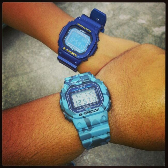 By your powers combined!!! @aishasha060402 Dw5600 Gshock