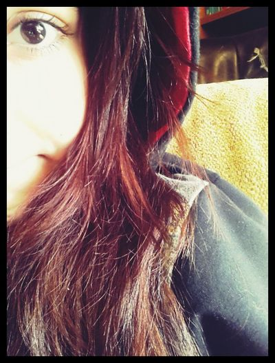Me Timeago Redhair Brown Eyes