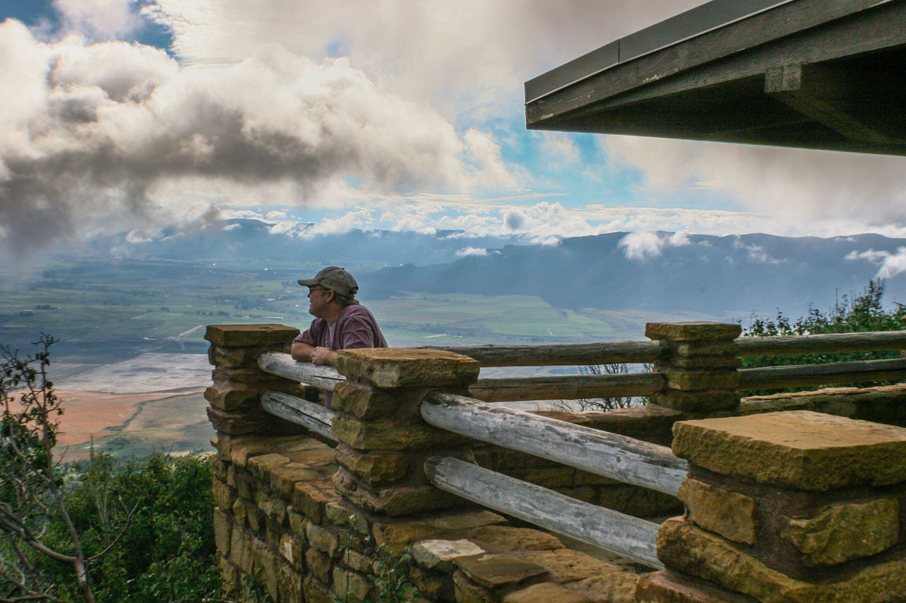Mancos valley overlook Cloud - Sky Colorado Day Leisure Activity Mesa Verde National Park One Person Outdoors Overlooking Real People Sky Vacation Destination Vacation Time Valley View Woman Live For The Story