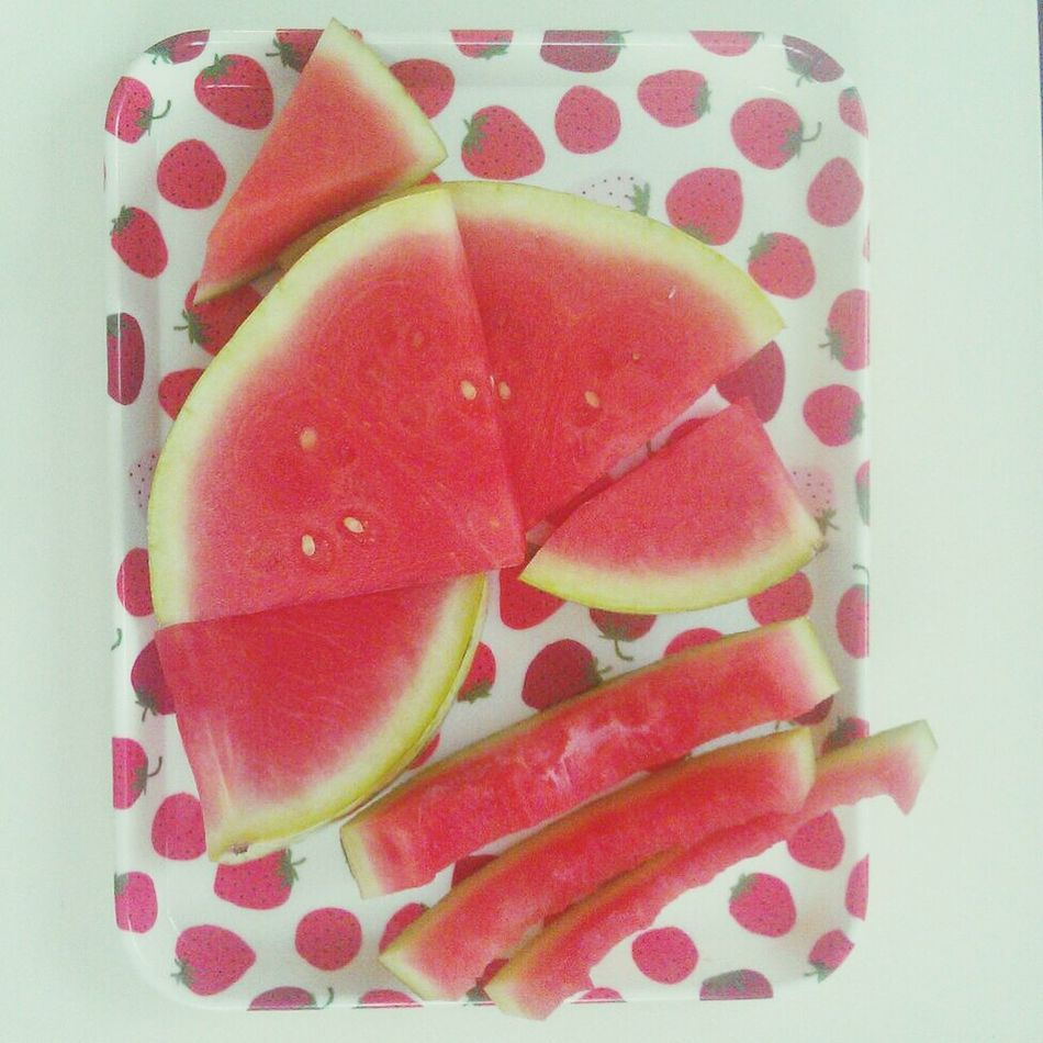 Watermelon Eating Watermelon watermelons.<3