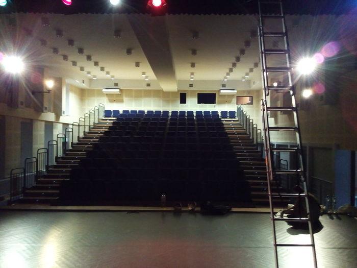 Indoors  Illuminated No People Concert Hall  Architecture Scene Theater Pokojartura Sadangel Polishpriest Arturhippe